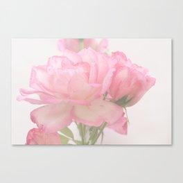 Gentleness - Soft Pink Rose #1 #decor #art #society6 Canvas Print