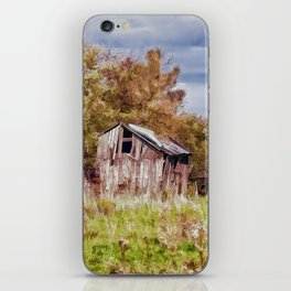 The old shed iPhone Skin