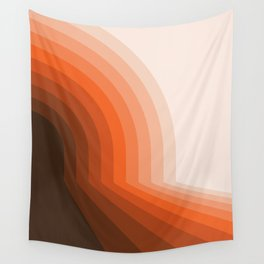 Desert Dusk Halfbow Wall Tapestry