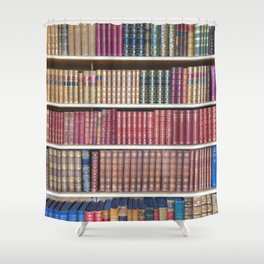 How Bookish are you? Shower Curtain