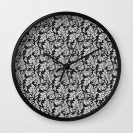 Autumn Leaves Pattern 2 Wall Clock