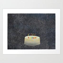Unbirthday Art Print