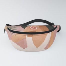Woman with Oranges Fanny Pack