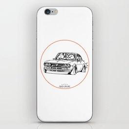 Crazy Car Art 0187 iPhone Skin