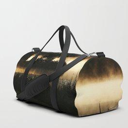 Morning Lake Scene Duffle Bag