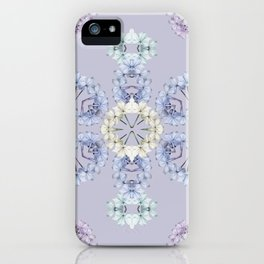 Pastel wildflowers iPhone Case