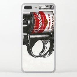 Soup Gun Clear iPhone Case
