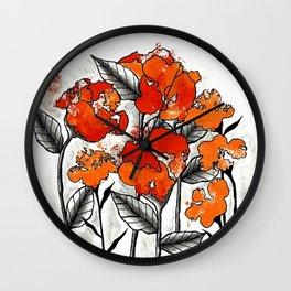 Imperfectly Beautiful Wall Clock
