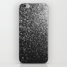 Silver Sparkle Glitter iPhone & iPod Skin