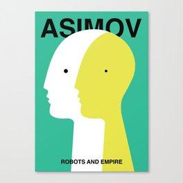 Robots and Empire Canvas Print