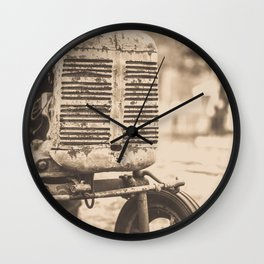 Old Vintage Tractor Woodstock Vermont Wall Clock