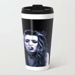 Uplifting haze Metal Travel Mug