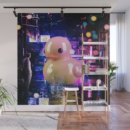 Rubber Duck Alley Wall Mural