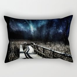 Hearts Floating Up to the Stars Rectangular Pillow