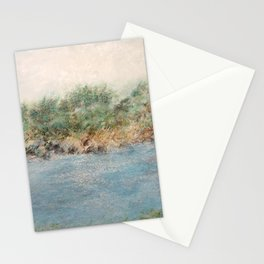 East Coast 1 Medium Color Tone, Coastal Sentiments, Oil Pastel Drawing Stationery Cards