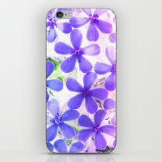 Flowers in crystal 2 iPhone & iPod Skin