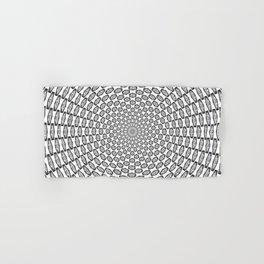 Hypnotic Critical Roll Illusion Hand & Bath Towel