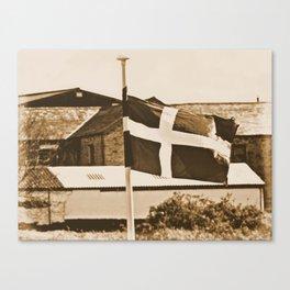 Flag Of The Cornish Canvas Print