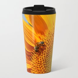 Sunflower & Bee Travel Mug