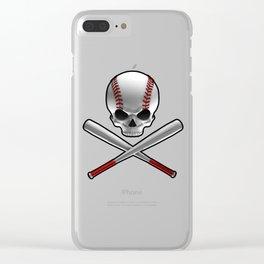 Phantom Ballplayer Clear iPhone Case