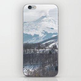 Etna volcano iPhone Skin