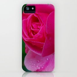 Perfect in pearls and diamonds iPhone Case