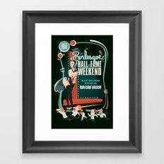 Burlesque Hall of Fame Weekend 2011 by Ragnar Framed Art Print