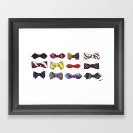 Blaine's Bowties Framed Art Print