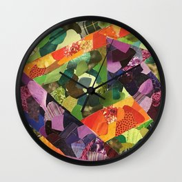 Arrow Collage Wall Clock