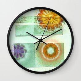 Skedaddle Helpless Flowers  ID:16165-101646-64081 Wall Clock