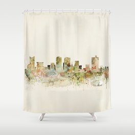 fort worth texas Shower Curtain