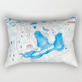 Big Star Lake Rectangular Pillow