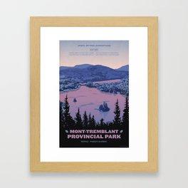 Mont-Tremblant Provincial Park Framed Art Print