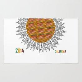 Calendar 2014 - Sunflower Rug