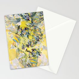 Yellow Flower Storm Stationery Cards