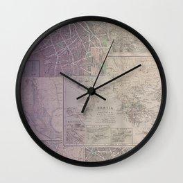 Travel Well Wall Clock