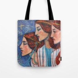 Tribute to Art Nouveau Tote Bag