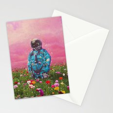 The Flower Field Stationery Cards