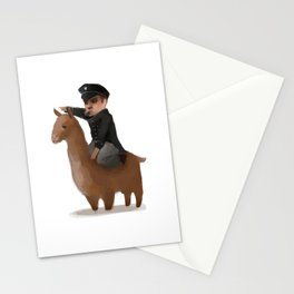 """Onwards, my brave steed!"" Stationery Cards"