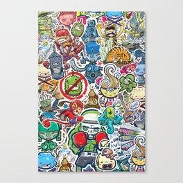 Kampu Kids Canvas Print