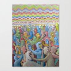 Altered Vibrations Canvas Print