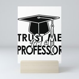 Professor Mentor College Tutor Prof Maestro Gift Mini Art Print