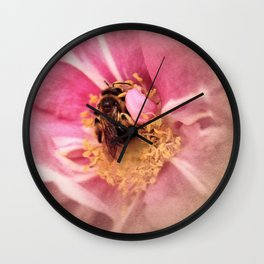 A Bees Melody Wall Clock