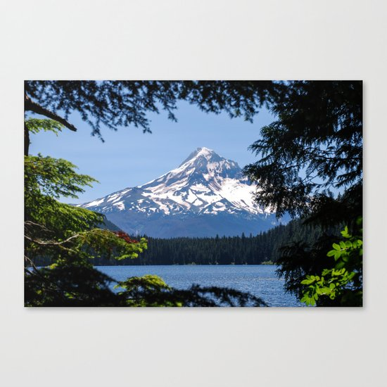 Mount Hood from Lost Lake Canvas Print