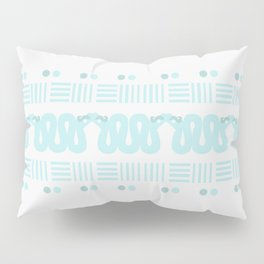 A Hiss on Dots and Lines Pillow Sham