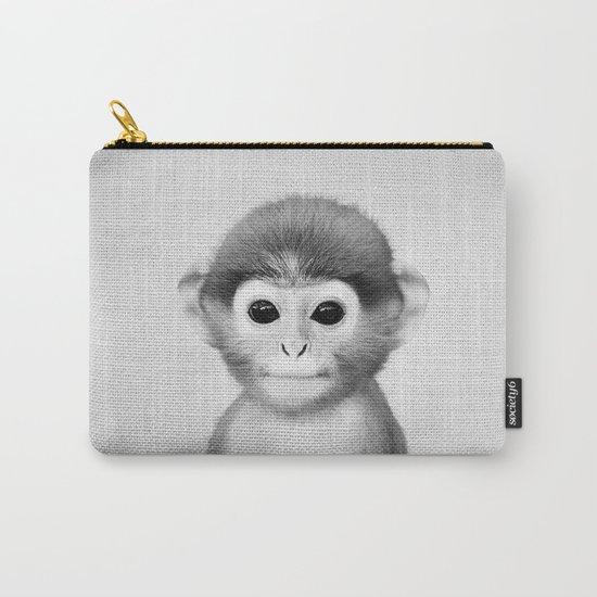 Baby Monkey - Black & White by galdesign