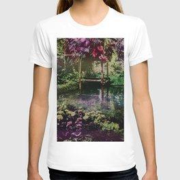 Tropical Pool Garden T-shirt