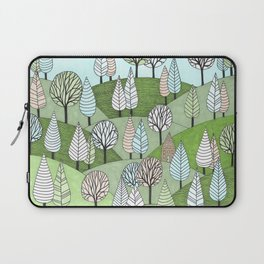 Little Cottage in the Woods Laptop Sleeve