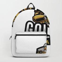 Golden Eagle Esport Logo Template Backpack