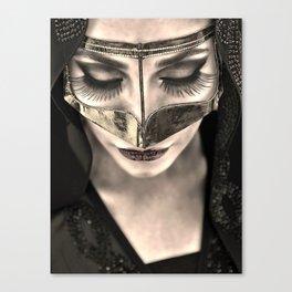 Neqab Portrait Canvas Print
